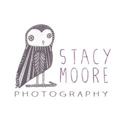 Photography Logo : Cute Sketched Owl, Premade Design, Text, Simple, Minimal, Taupe, Purple, Pastel, Watermark, Transparent, Overlay