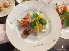Lobster salad with glased cherry tomato #guidilenci