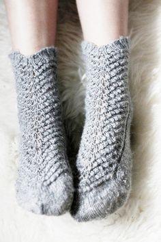 Wool socks.