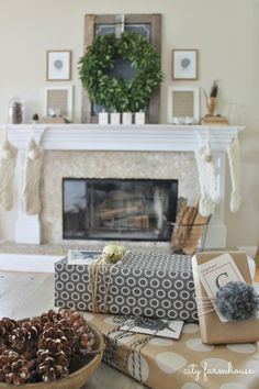City Farmhouse Mantle & Gifts