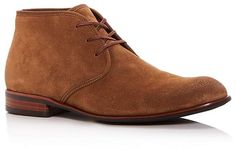 John Varvatos Star USA Men's Seagher Suede Chukka Boots
