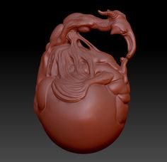 TreeLove. This was a zbrush zsketch that I had fun working a little further.
