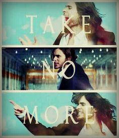 "Jared- ""TAKE NO MOOOOORE!!!""Thirty Seconds To Mars ""Up In The Air"" <3"