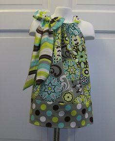 Love these pillowcase dresses!