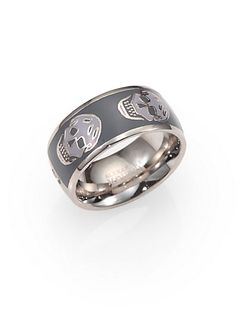 Alexander McQueen - Skull Ring - Saks.com
