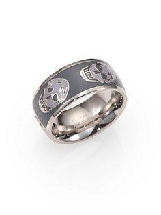 Skull ring - cool!