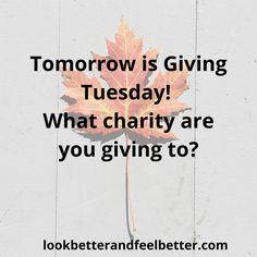 Giving Tuesday, Feel Better, Calm, Feelings, Reading, Blog, Reading Books, Blogging
