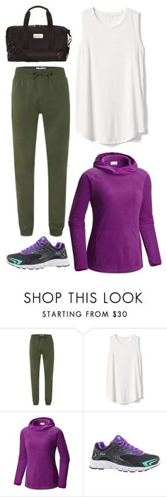 """""""She-Hulk"""" by avenueg ❤ liked on Polyvore featuring Gap, Columbia, Fila and adidas"""