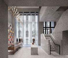 Dit zijn de mooiste winkelinterieurs van 2015 | Valentino New York - David Chipperfield | ELLE Decoration NL