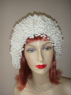 1960's Elegant Jack McConnell Lily of The Valley Hat