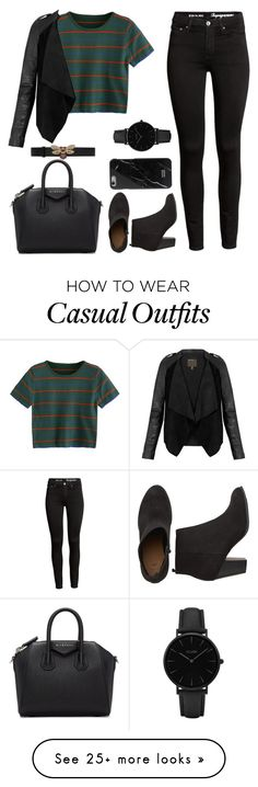 """Untitled #1714"" by blossomfade on Polyvore featuring Givenchy, MuuBaa, Native Union, CLUSE and Gucci"