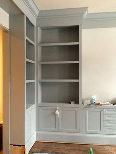KItchen double doors into new snug. Snug corner unit