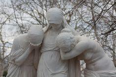 European Cemeteries - Trio in mourning