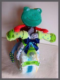 Tort Rowerek Z Pampersow Duza Maskotka Smoczek 6840760820 Oficjalne Archiwum Allegro Baby Shower Ideas Para Fiestas Fiesta