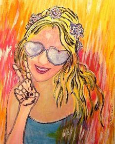 """""""Peace"""" Art Prints by whiteygilroy   Redbubble"""