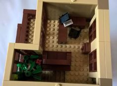 Law Offices of Dewey, Cheetum & Howe :: My LEGO creations. An office building with a conference room, three individual offices, and two private balconies. Lego Office, Lego Creations, Offices, Law, Bricks, Toys, Activity Toys, Brick, Clearance Toys