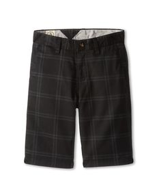 Volcom Kids Frickin Plaid Chino Short (Big Kids)