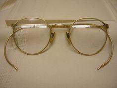 beef9687ca5 Vintage Gold Filled HIBO Eyeglsses Ornate 1 10 10-12 KGF Eye Glasses