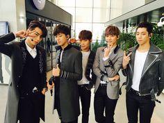 KNK ~ Seungjun, Inseong, Heejun, Jihun, and Youjin