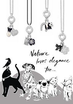 At the THOMAS SABO Online Shop you will find high quality Sterling silver jewelry, elegant watches and beauty products for her and him. Animal Jewelry, Jewelry Art, Jewelry Design, Jewellery Box, Thomas Sabo, Meaningful Jewelry, Cute Charms, All That Glitters, 40th Birthday
