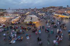 Djemaa el Fna - das Herz von Marrakesch - Reisetipp Dolores Park, Vibrant, Paradise, Magic, Travel, Marrakech, Travel Tips, Heart, Voyage