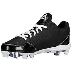 new product 6bfe3 43ad8 adidas Display Wheel House 2 K Baseball Softball Shoe (Little Kid Big Kid),  Black Carbon White, 5 M US Big Kid
