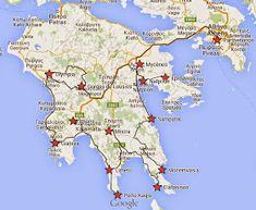 DES VOYAGES TOUS RIS(ti)QUES: Athènes / Péloponnèse 2014 : le bilan