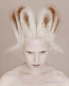 Skyler McDonald: Avant Garde Hairdresser of the Year 2010 finalist