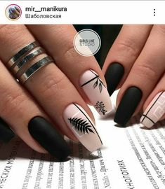 100 + The most amazing nail design - Page 76 of 103 - Nails - . - Edeline Ca. - 100 + The Most Amazing Nail Design – Page 76 of 103 – Nails – – - Best Acrylic Nails, Acrylic Nail Designs, Nail Art Designs, Nails Design, Best Nail Designs, Accent Nail Designs, Nail Designs Spring, Dream Nails, Love Nails
