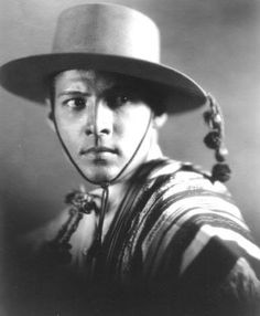 Rudolph Valentino...Hollywood's first real superstar sex symbol.  News of his death caused suicides.