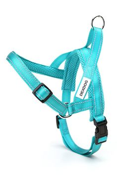 Dexdog Easy Walk Dog Harness Turquoise - Easier Than Step In Dog Harness Or Dog Harness Vest!