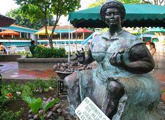 San Fernando, Tour, Garden Sculpture, Buddha, Statue, Country, Outdoor Decor, Colombia, Waterfalls