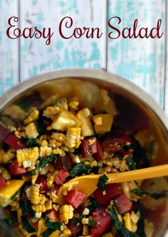 Easy Corn Salad With Tomatoes and Kale