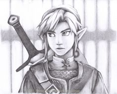 LoZ: High Definition - Link by ~TaiKova on deviantART