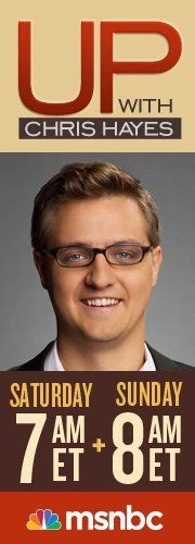 Up With Chris Hayes The smartest liberal show on TV