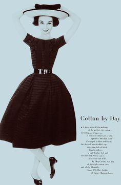 Audrey Hepburn in Harpers Bazaar, May 1957