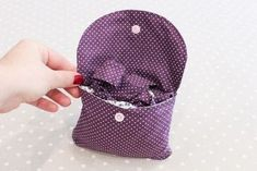 A foldable bag for shopping {DIY} Coin Couture, Couture Sewing, Diy Sac, Diy Bags Purses, Louis Vuitton Damier, Shopping Bag, Pouch, Boutique, Crochet