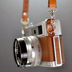 Wood effect camera