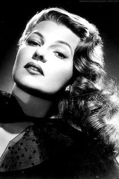 Rita Hayworth  1918 - 1987  Film actress and dancer.