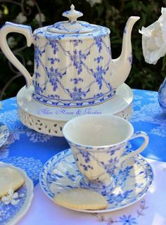 Gorgeous Blue and White ~
