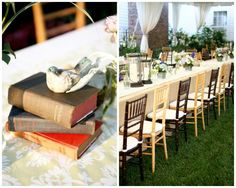 Tennessee Farmhouse Wedding, bible, white drapes, white linens, white candles, reception