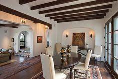 Montecito Residence - mediterranean - dining room - santa barbara - by Lindsey Adams Construction Inc.
