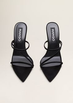 Easy Fashion Tips Leather straps sandals - Women Pretty Shoes, Beautiful Shoes, Cute Shoes, Me Too Shoes, Heel Pumps, Stiletto Heels, High Heels, Stilettos, Zapatos Shoes