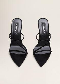 Easy Fashion Tips Leather straps sandals - Women Zapatos Shoes, Shoes Heels, Pumps, Cute Shoes, Me Too Shoes, Stiletto Heels, High Heels, Stilettos, Aesthetic Shoes