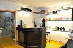 Agencement du salon Cors'hair (Luxembourg)