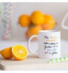 Taza Media naranja #pedritaparker #taza #mug #regalo #divertido
