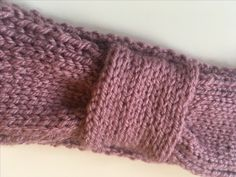 Handmade with Love by JessannBoutique Knitted Headband, Knitted Hats, Mauve Color, Colour, Thick Headbands, Winter Wear, Different Styles, Hand Knitting, Knitwear