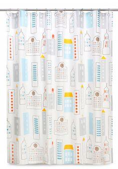DwellStudio City of Tomorrow Shower Curtain, #ModCloth