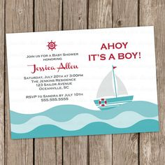 Boy Baby Shower Invitation Wording