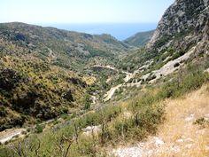 View from Cave of Pythagoras, Samos, Greece